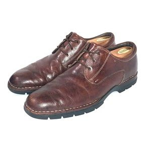 Cole Haan Mens Brown Leather Oxford Size 9.5D